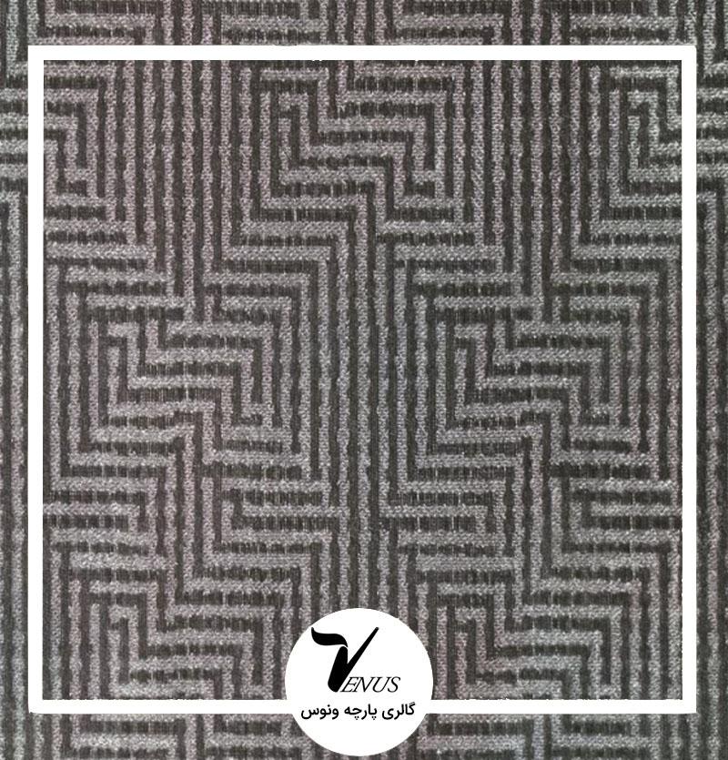 پارچه مبلی ترک اویپک | طرح وستا رنگ نقره ای