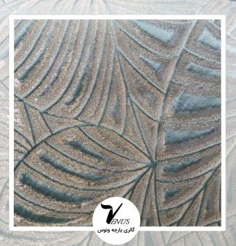 پارچه مبلی ترک اویپک | طرح فلورا رنگ سبزآبی (سبز تر)