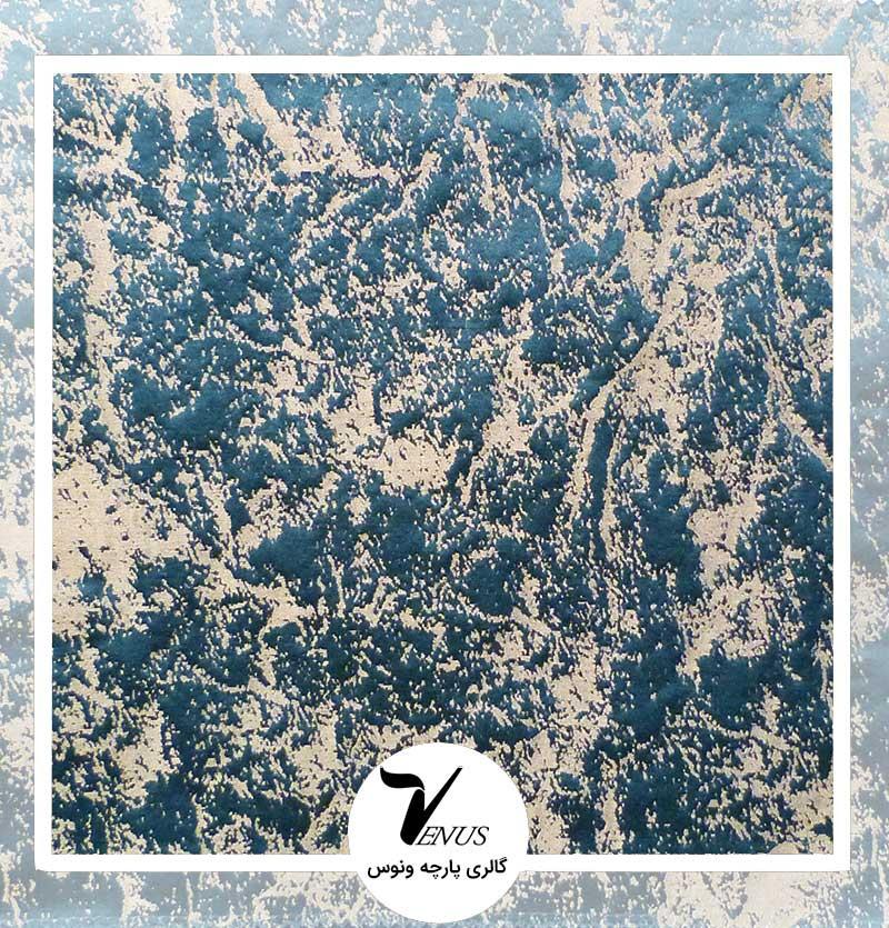 پارچه مبلی ترک اویپک | طرح فلورا رنگ سبز تیره