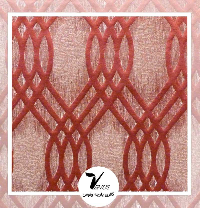 پارچه مبلی ترک اویپک | طرح ولنتاین رنگ قرمز