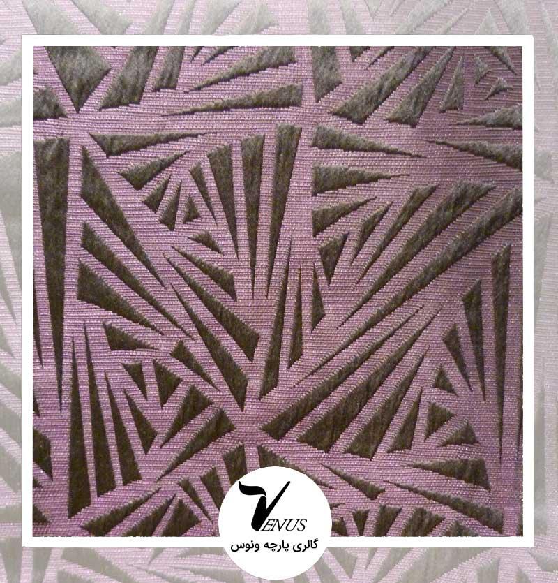 پارچه مبلی ترک اویپک | طرح کاسا رنگ بنفش تیره