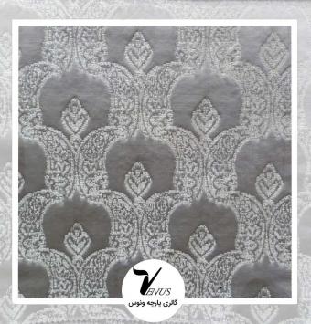 پارچه مبلی ترک اویپک | رنگ طوسی خاکستری طرح لایف