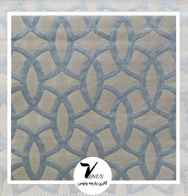 پارچه مبلی ترک اویپک | طرح مریت رنگ سبز آبی