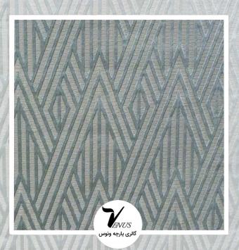 پارچه مبلی ترک اویپک |طرح مریت رنگ سبز آبی سبز تر