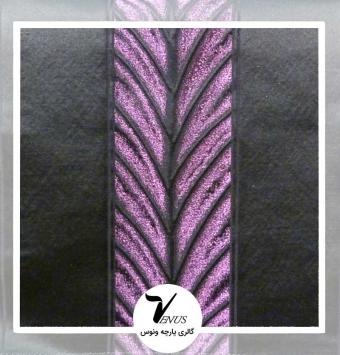 پارچه مبلی ترک اویپک | طرح فلورا رنگ بنفش تیره