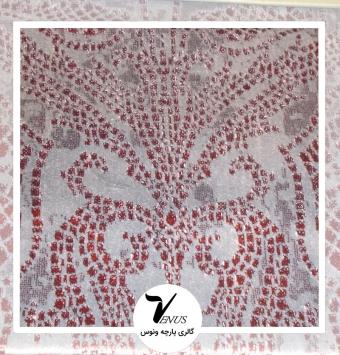 پارچه مبلی ترک اویپک | طرح مایا رنگ زرشکی