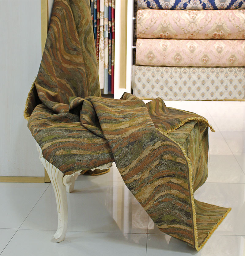 پارچه مبل | پارچه کنفی طرح دار ( Truner Stripe )