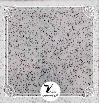 پارچه مبلی ترک اویپک طرح مایا رنگ سفید مشکی طرح 5