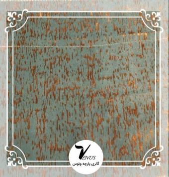 پارچه مبلی ترک اویپک طرح مایا رنگ سبز آبی طلایی طرح5