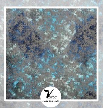 پارچه مبل | گائودی آبی طرح شماره 2