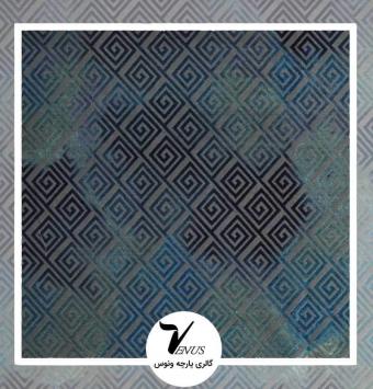پارچه مبل | گائودی آبی طرح شماره 12